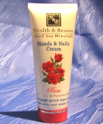"Health & Beauty - Hand- und Nagelcreme ""Rose"""