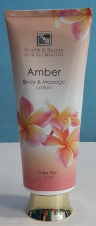 Health & Beauty - Anti Aging Body-und Massage Lotion Amber