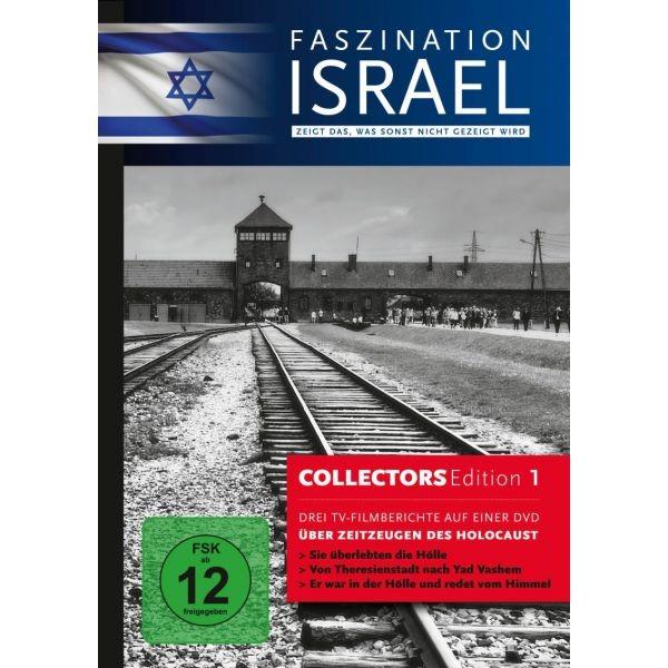 DVD: Faszination Israel - Über Zeitzeugen des Holocaust ( DVD 1 )
