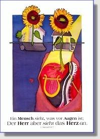 Postkarte zur Jahreslosung 2003