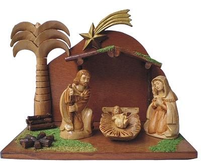 Chris Zeiner - Krippenset Bethlehem 1