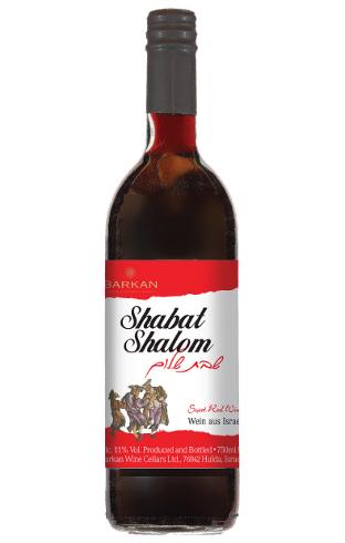 Shabat Shalom, Sweet Red Kiddush