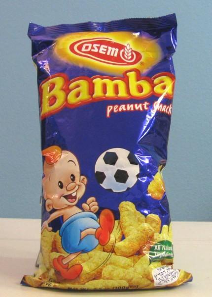 Bamba - Israelische Erdnussflips