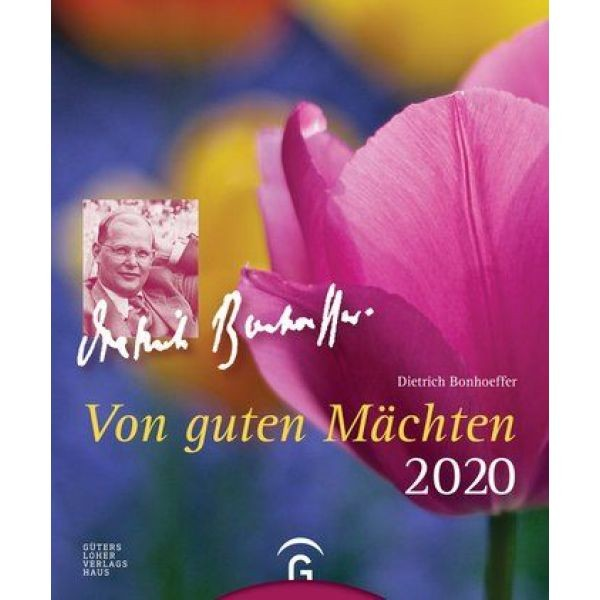 Von guten Mäcchten 2020 - Dietrich Bonhoeffer (Postkartenkalender)