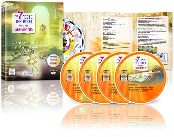 Die 7 Feste der Bibel und ihr Geheimnis - 4er DVD-Set