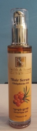 Health & Beauty - Haar Serum mit Sanddornöl