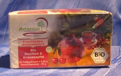 Adanim BIO-Rooibos- & Granatapfeltee