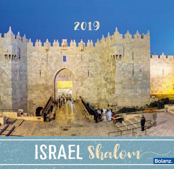 Israel Shalom 2019 - Tischkalender