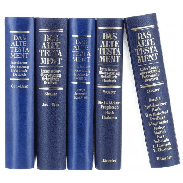 Interlinearübersetzung (Rita Maria Steurer) Komplett-Paket (Band 1 - 5)