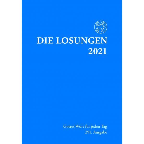 Losungen 2021, dunkelblau
