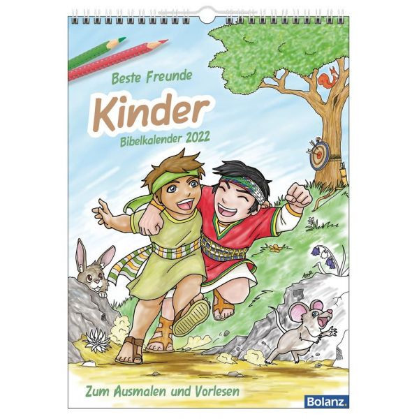 Kinderbibelkalender 2022