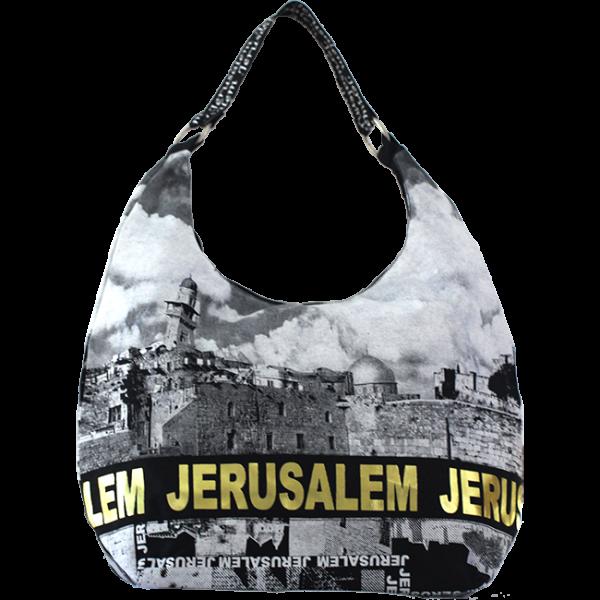 """Große Shoppingtasche """"Jerusalem"""""""