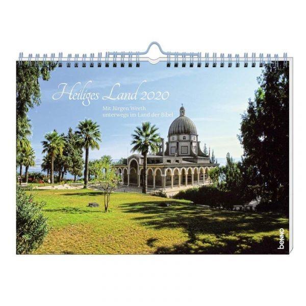 Heiliges Land 2020 - Wandkalender (Jürgen Werth)