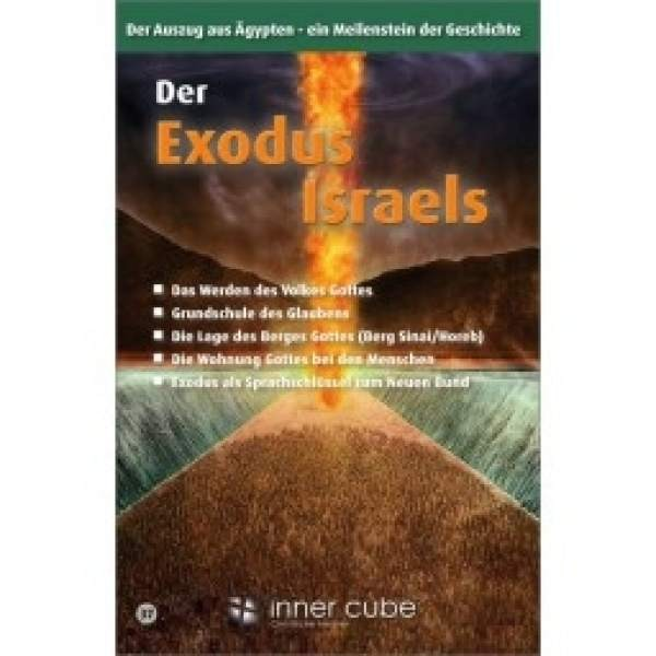 Der Exodus Israels - Studienfaltkarte No.: 37