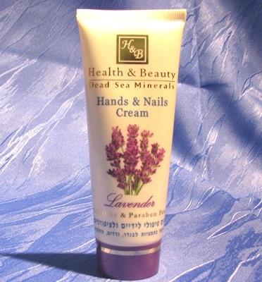 "Health & Beauty - Hand- und Nagelcreme ""Lavendel"""