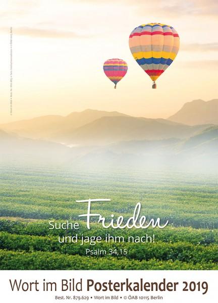 Großer Posterkalender 2019 Motiv: Sonne & Nebel