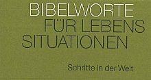 """Neujahreslose Bibelworte """"Schritte in der Welt"""""""