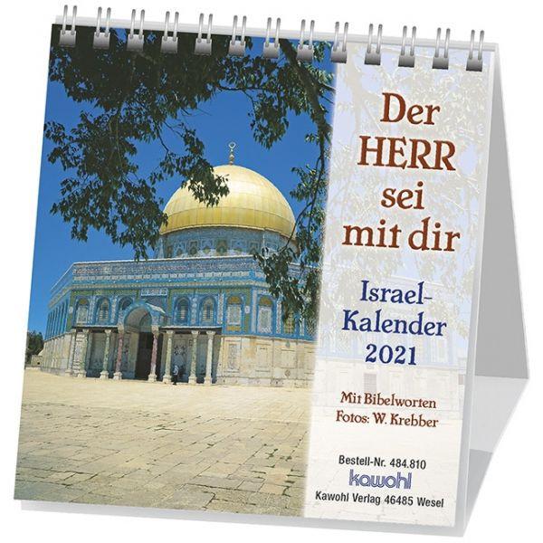 Der Herr sei mit dir 2021 - Israelkalender klein