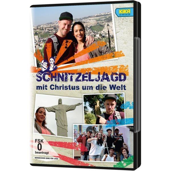 DVD, Schnitzeljagd mit Christus um die Welt