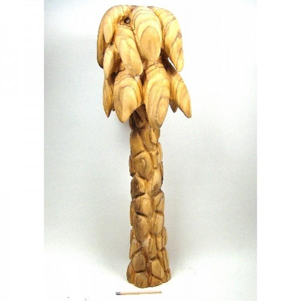 Olivenholz-Palme, ca. 31 cm hoch