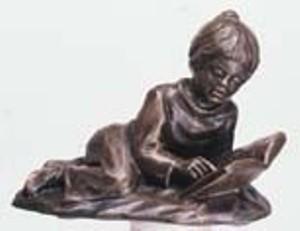 Mein liebstes Buch - Bronzefarbener Steinguss
