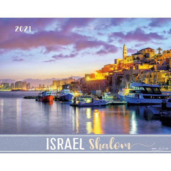 Israel Shalom 2021 (Wandkalender-Bolanz)