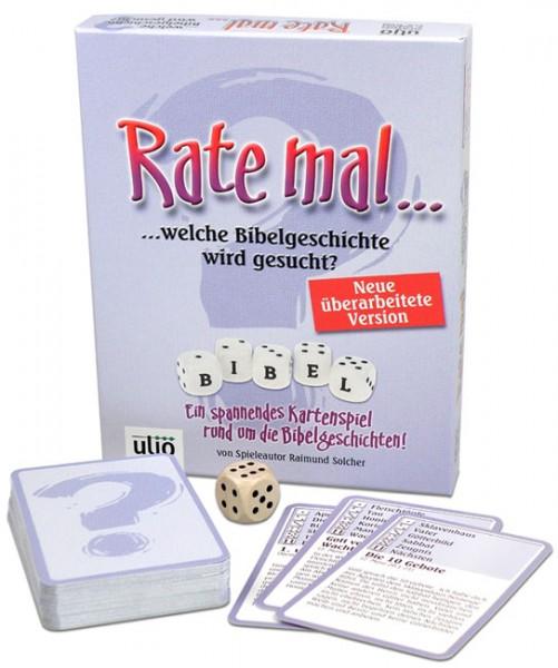 "Kartenspiel ""Rate mal..."""