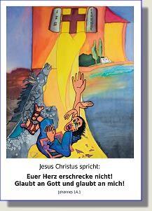 Postkarte zur Jahreslosung 2010