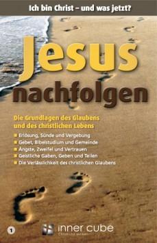 Jesus nachfolgen - Studienfaltkarte 1