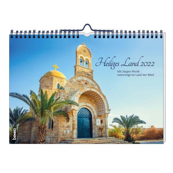 Heiliges Land 2022 - Wandkalender (Jürgen Werth)