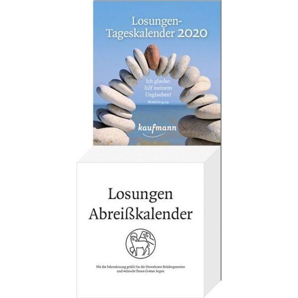 Losungen 2020 - Abreißkalender -