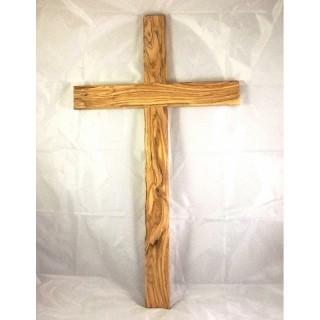 Olivenholz-Kreuz 70 cm