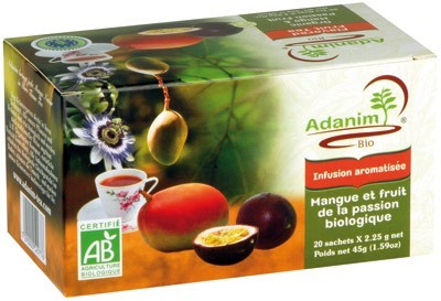 Adanim BIO-Mango- & Passionsfrucht-Tee