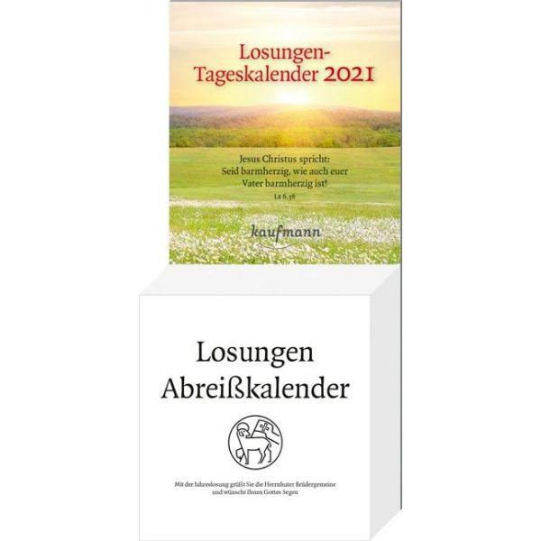 Losungen 2021 - Abreißkalender -