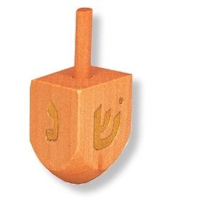 Dreidel aus Holz ( 4 cm )