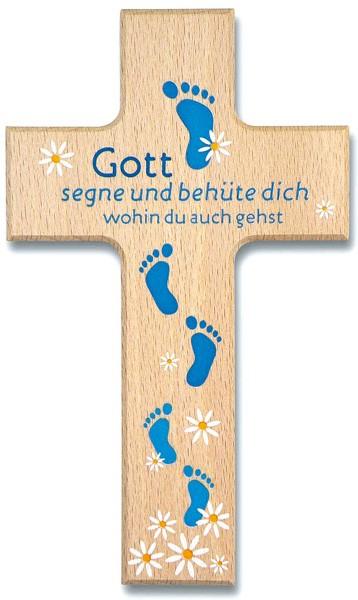 "Holzkreuz ""Gott segne dich"""
