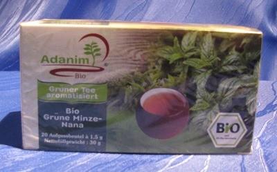 Adanim Grüne Minze-Nana Tee- BIO