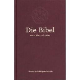 Lutherbibel - Großdruckausgabe, burgund