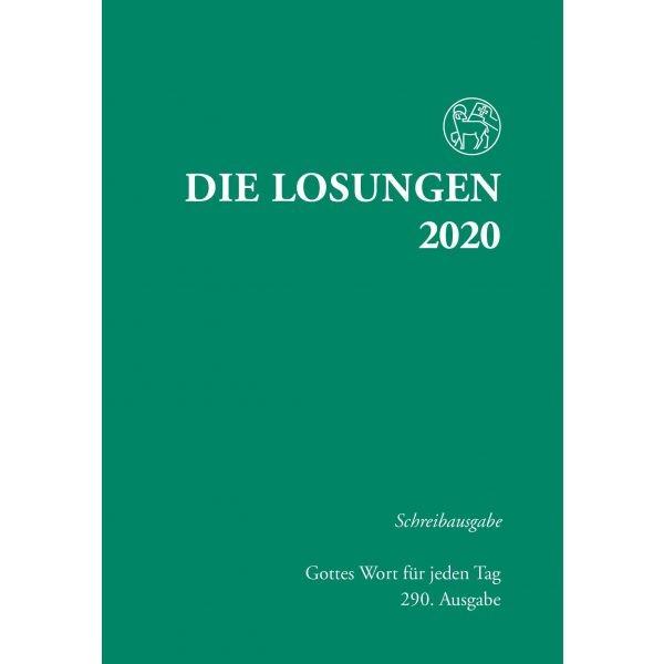 Losungen 2021, grün, Schreibausgabe