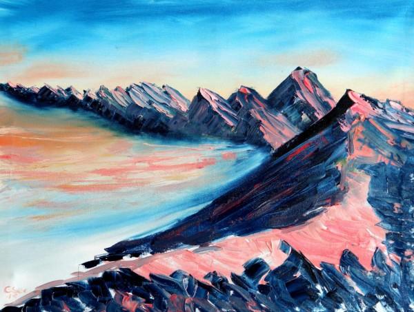 Mount Karbolet Sunrise ( Unikat No: 2317 )