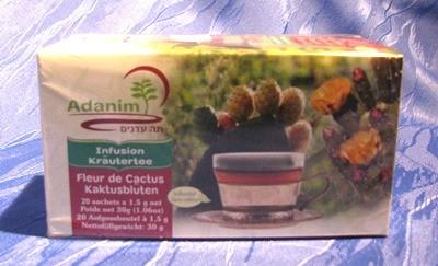 Adanim BIO-Kaktusblüten-Tee