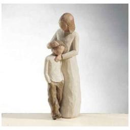 """Figur """"Mutter und Sohn"""""""