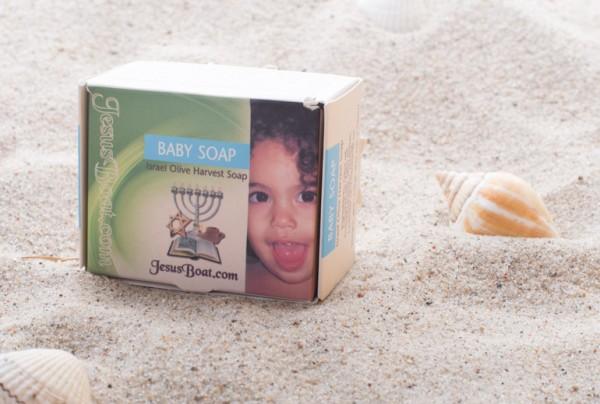 Olivenöl-Babyseife