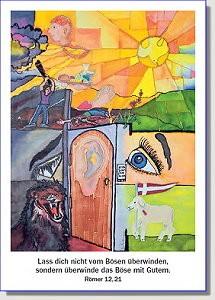 Postkarte zur Jahreslosung 2011