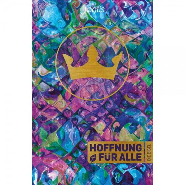 """Hoffnung für Alle - """"Trend-Edition Krone"""" - Die Bibel"""