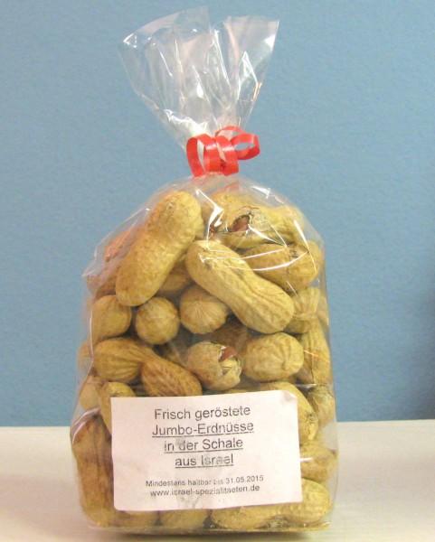 Jumbo-Erdnüsse, geröstet, 200 g