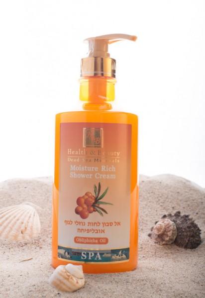 Health & Beauty - Duschgel angereichert mit Sanddornöl - für jeden Hauttyp