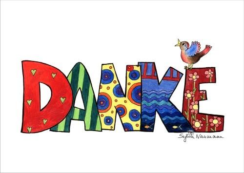 DANKE (Grußkarte)