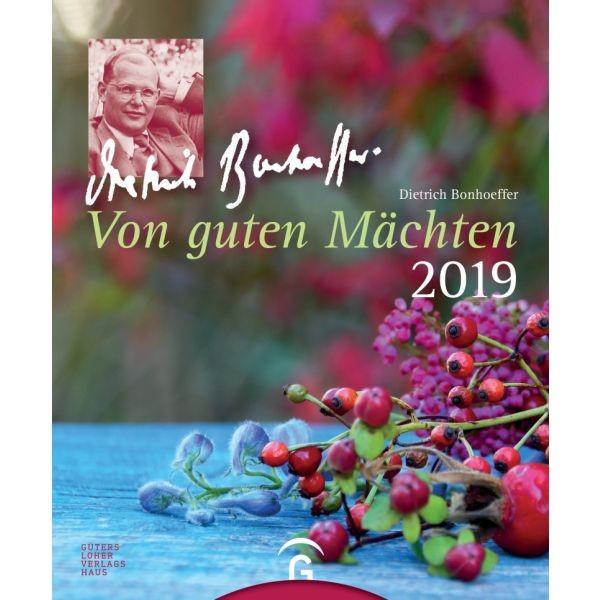Von guten Mächten 2019 - Postkartenkalender