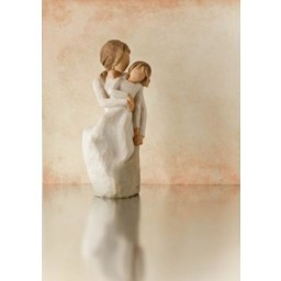 """Figur """"Mutter und Tochter"""""""